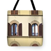 Six Windows Of Florence Tote Bag