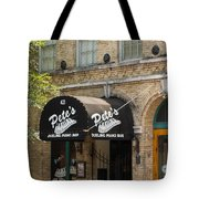 Austin Sixth Street Dueling Piano Bar Tote Bag