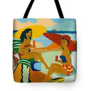 Sizzling Summer Tote Bag