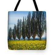 Skagit Trees Tote Bag by Inge Johnsson