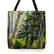 Skagit Valley Forest Tote Bag