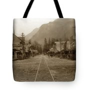 Skagway Alaska H. C. Bailey Photographer June 15 1898 Tote Bag