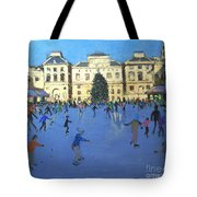 Skaters  Somerset House Tote Bag by Andrew Macara