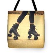 Skates In Motion Tote Bag