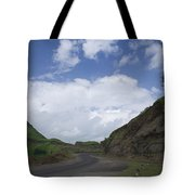 Skc 3557 Drive Up The Mountain Tote Bag
