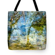 Skeletal Abstract Tote Bag