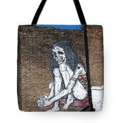 Skeleton Lady Tote Bag