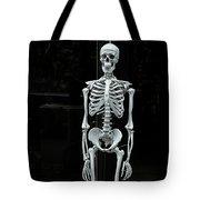 Skeleton New York City Tote Bag