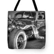 Skeleton Of A Classic Car Tote Bag