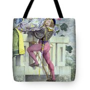 Sketch For The Passions Love Tote Bag by Richard Dadd