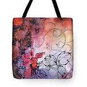 Sketchflowers - Calendula Tote Bag