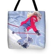 Ski 1 Tote Bag