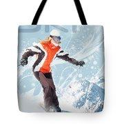 Ski 2 Tote Bag