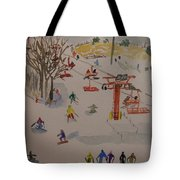 Ski Area Tote Bag