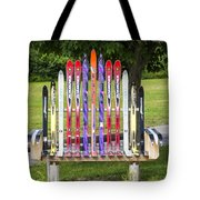 Ski Bench - Fort Foster - Maine Tote Bag