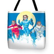 Ski Fun Art Tote Bag