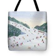 Ski Vening Tote Bag