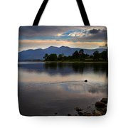 Skiddaw And Derwent Water At Dawn Tote Bag