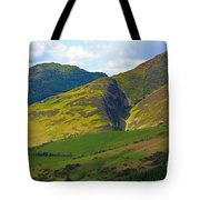 Skiddaw In The Lake District Tote Bag