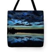 Skies Of The Great North Tote Bag