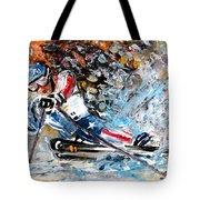 Skiing 04 Tote Bag