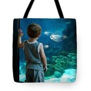 Skinny Fish Tote Bag