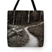 Skinny Trails Tote Bag by Marilyn Hunt
