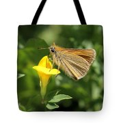 European Skipper On Bird's-foot Trefoil Tote Bag