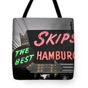 Skips Hamburgers II Tote Bag