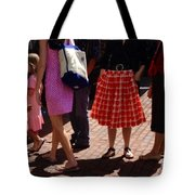 Skirts And Pooches On Capitol Hill Tote Bag