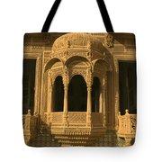 Skn 1320 Carving Splendor Tote Bag