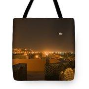 Skn 1351 Illumination At The Horizon Tote Bag