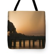 Skn 1383 The Morning Glow  Tote Bag