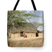 Skn 1401 Rural Background Tote Bag