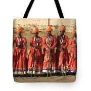 Skn 1508 Folk Dancers Tote Bag