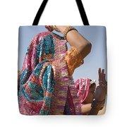 Skn 1544 Dressed To Dance Tote Bag