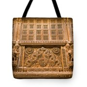 Skn 1657 Wall Architecture Tote Bag
