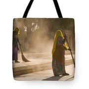 Skn 1690 Twin Sweepers Tote Bag