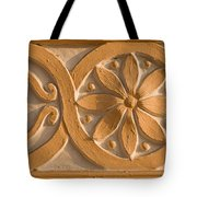 Skn 1788 The Wall Carving  Tote Bag