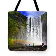 Skogarfoss Tote Bag