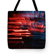 Skc 0272 Crystal Glass In Motion Tote Bag