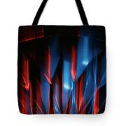 Skc 0276 Red And Blue Tote Bag