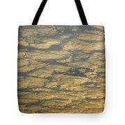 Skc 0341 Cloud Quilt  Tote Bag