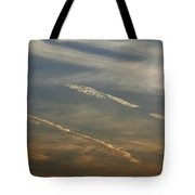 Skc 0365 Cloud Tracks Tote Bag
