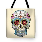 Skull 10 Tote Bag