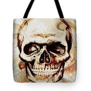 Skull Tote Bag by Anastasiya Malakhova