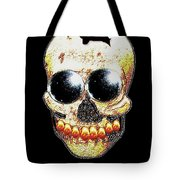 Skull Art In A Surrealism Definition Tote Bag