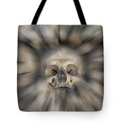 Skull - Fear And Trembling  Tote Bag