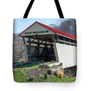 Skull Fork Covered Bridge Tote Bag