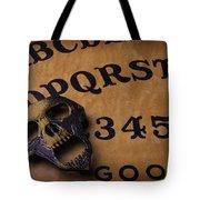 Skull Planchette Tote Bag